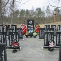 Братское захоронение в д. Алушково